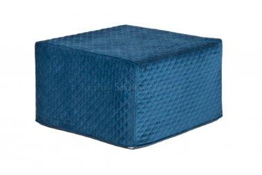 Pouf letto di qualità, sfoderabile, a scelta tipo di materasso e colore Mod. 49