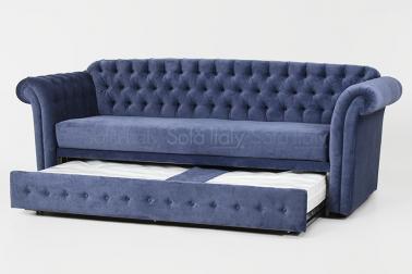 Divano capitonnè doppio letto estraibile mod.305