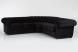 mod. chester componibile angolare curvo - rivestimento come da foto velluto antimacchia col.nero
